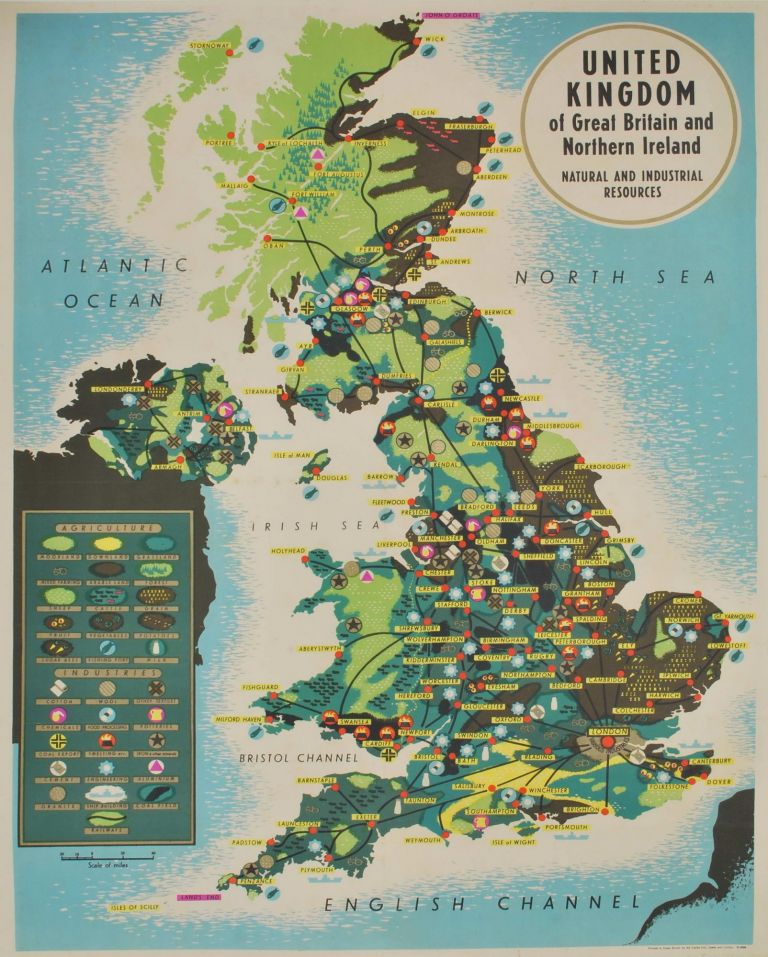 United Kingdom Of Great Britain And Northern Ireland Natural And Industrial Resources