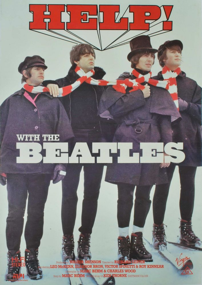 """""""Help!"""" With The Beatles [Film]"""