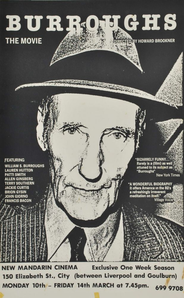 """Burroughs"" The Movie"