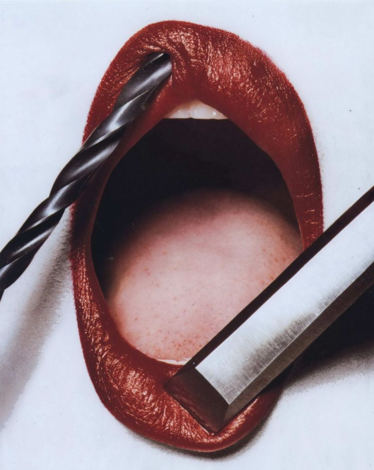 "[Lipstick Advertisement for ""Vogue"" US]. Irving Penn, Amer."