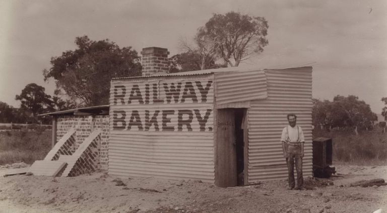 The Country Baker, Carrington, Near Perth, WA. E G. Rome, active Aust.