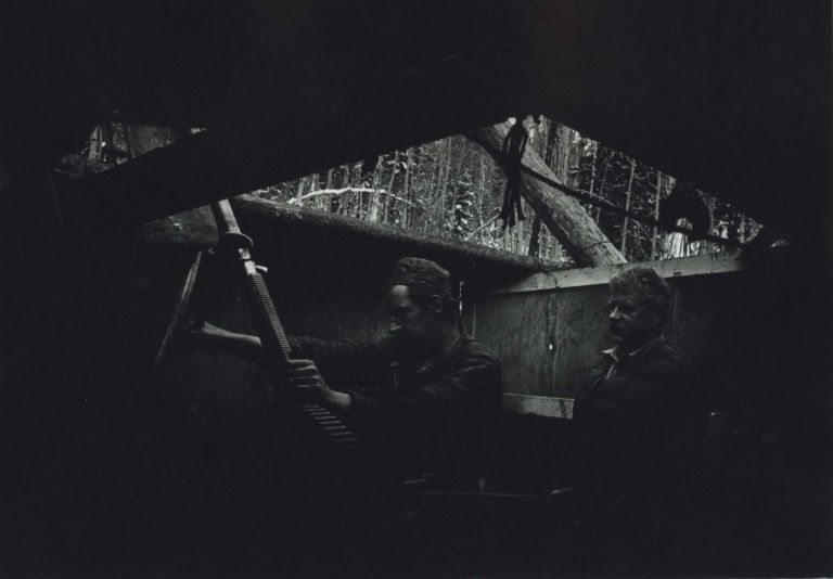[Two Men With Machinery]. W. Eugene Smith, Amer.