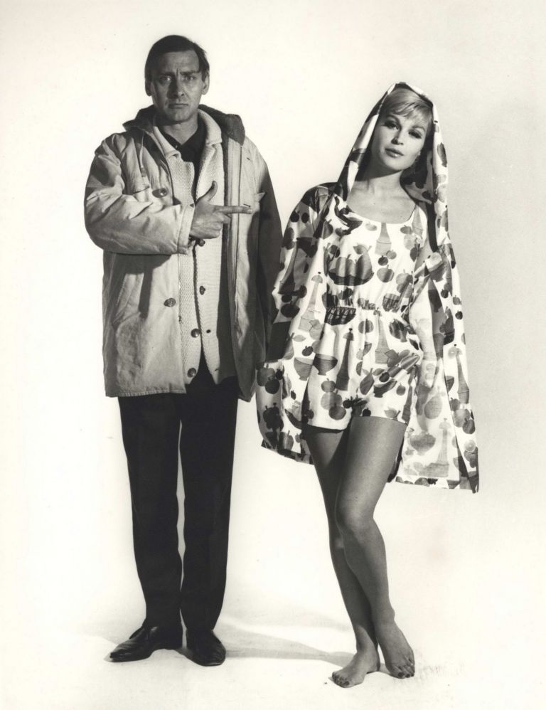 Spike Milligan And Kaia Stanford For Everglaze. Henry Talbot, Aust.