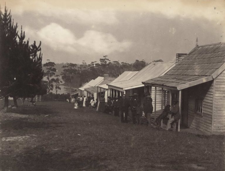 Native Cottages, Lake Tyers [Victoria]