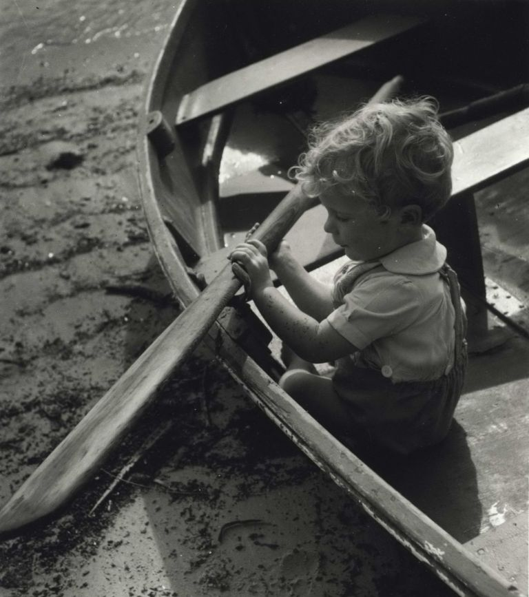 The Young Oarsman. Olive Cotton, Australian.