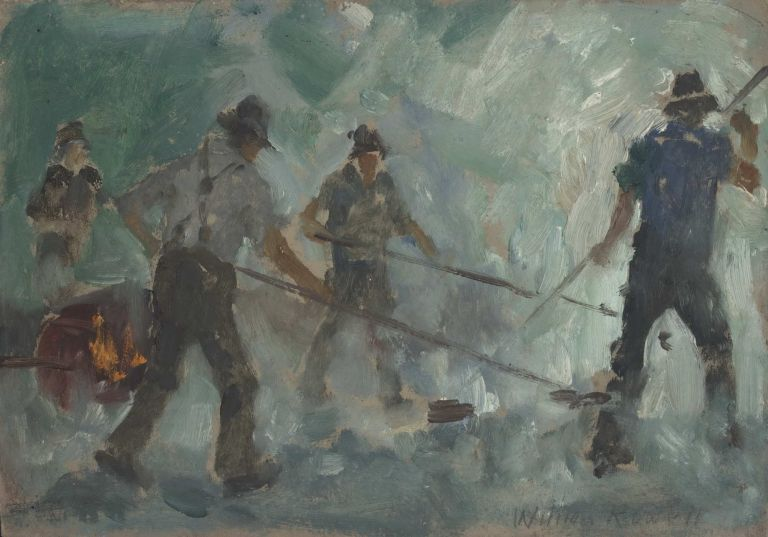 Council Workers. William Rowell, Aust.