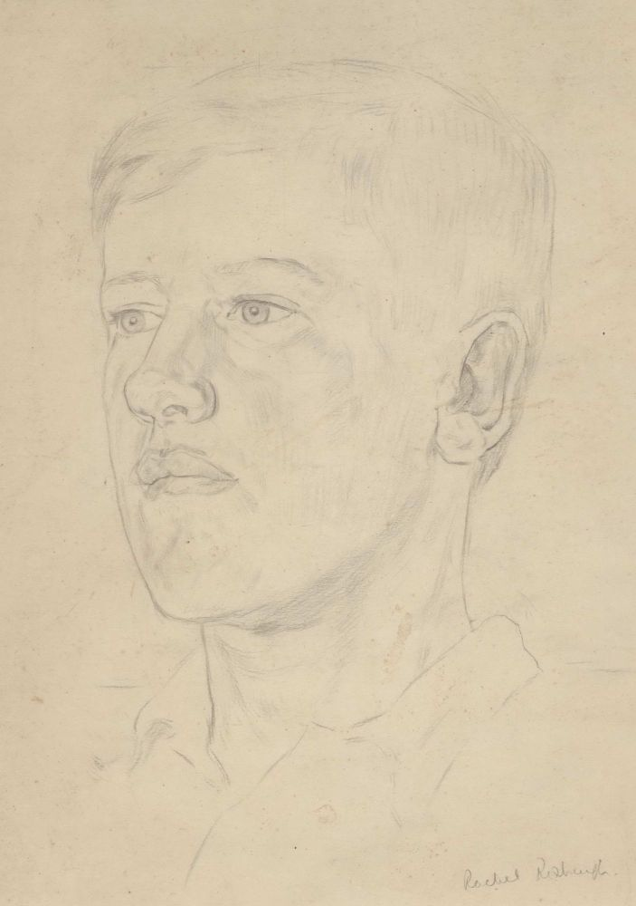 [Portrait Of A Young Man]. Rachel Roxburgh, Australian.