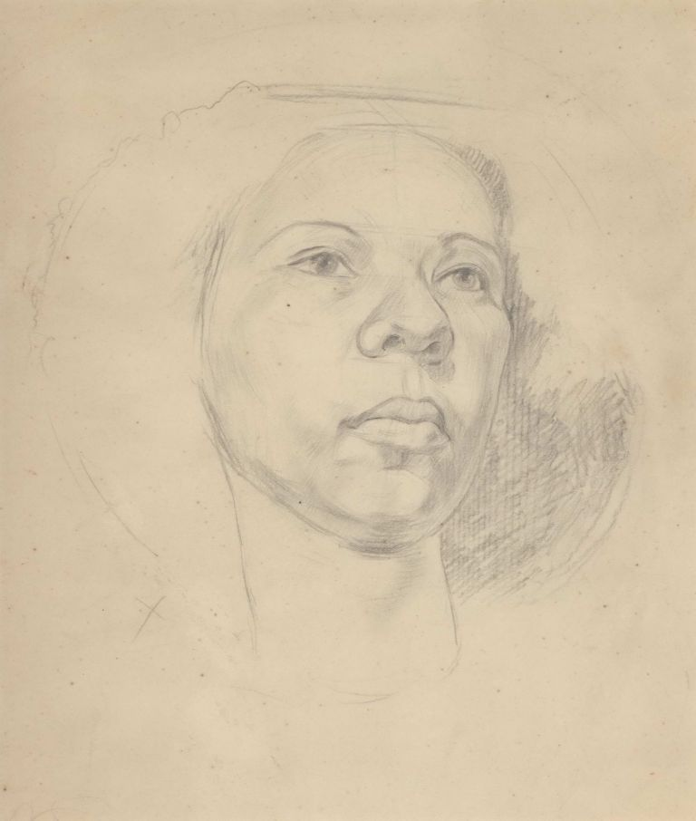[Portrait Of A Woman]. Rachel Roxburgh, Aust.
