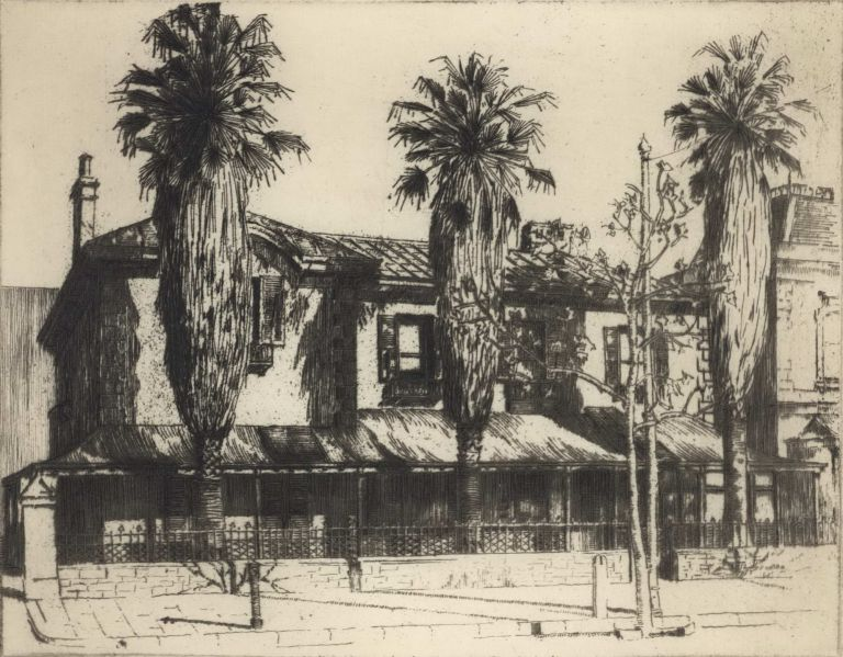 Gonville Chambers, North Tce [Adelaide]. C A. Russell, active 1920s Aust.