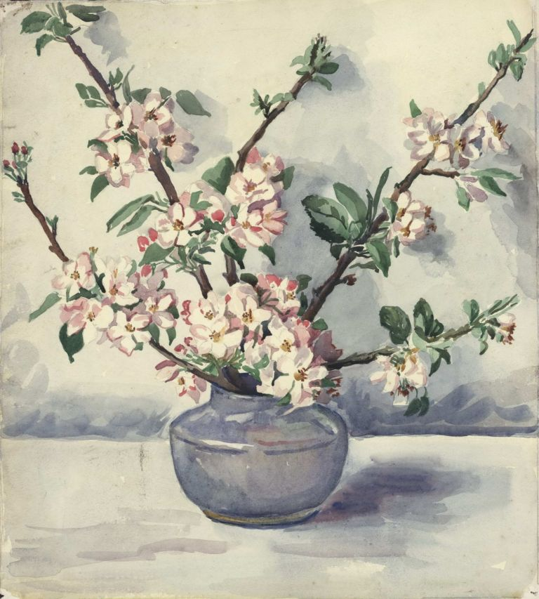 [Still Life With Apple Blossoms]. active Australian, s.