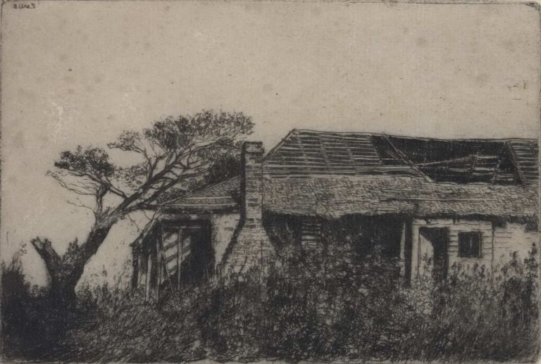 Old Government House, Windsor [NSW]. Sydney Ure Smith, Aust.
