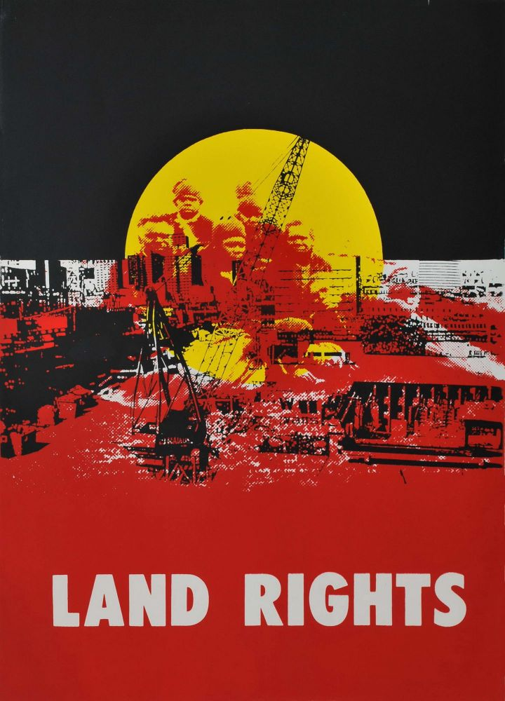 Land Rights. Karen Casey, b.1956 Aust.