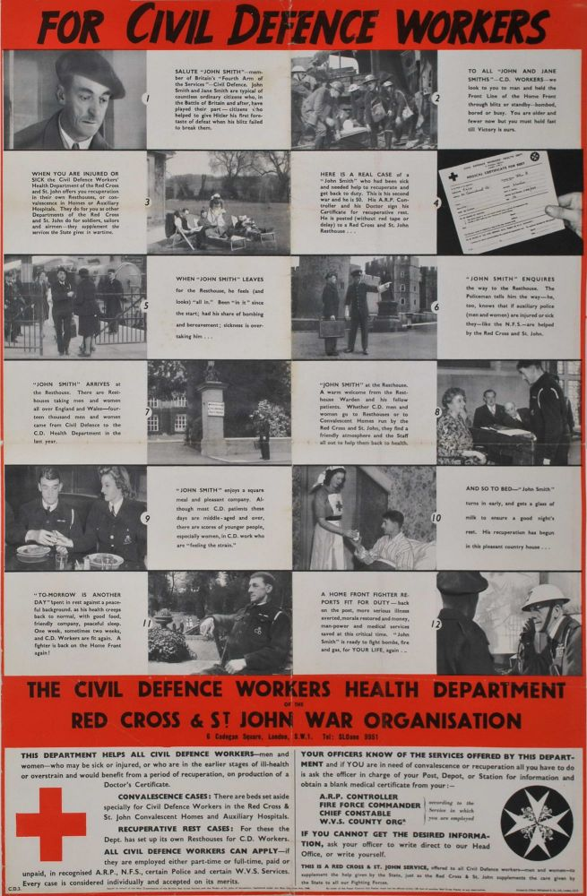 For Civil Defence Workers [WWII]
