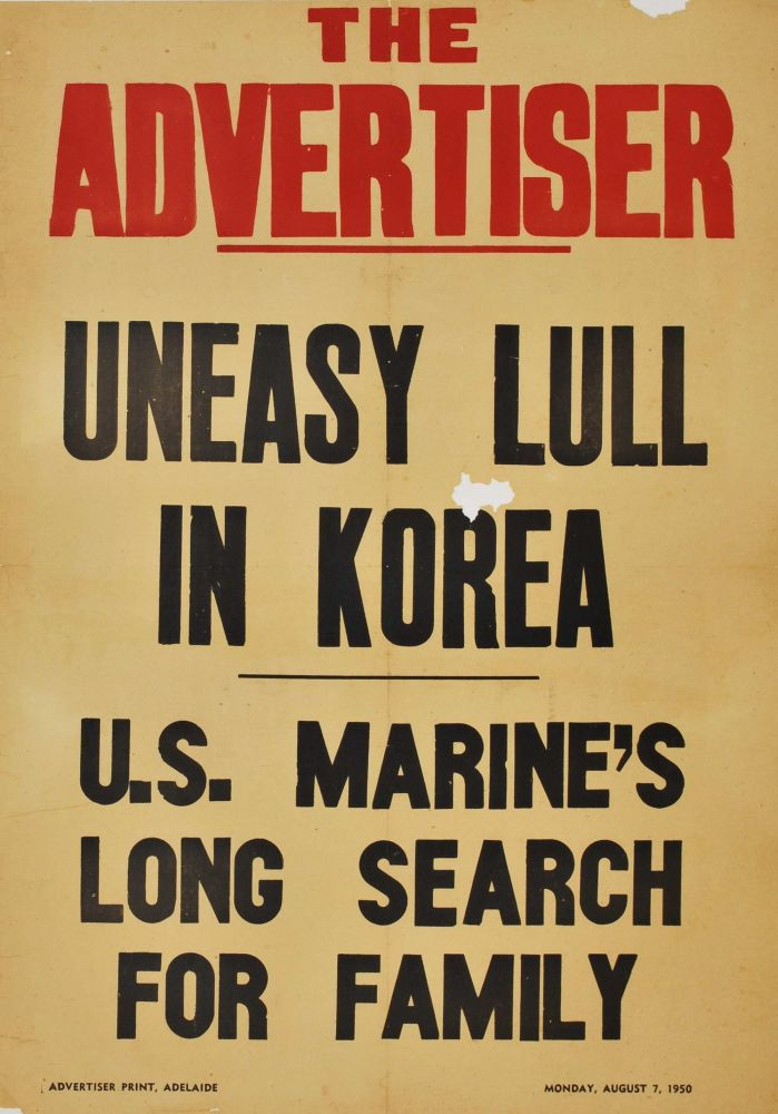 """The Advertiser."" Uneasy Lull In Korea"
