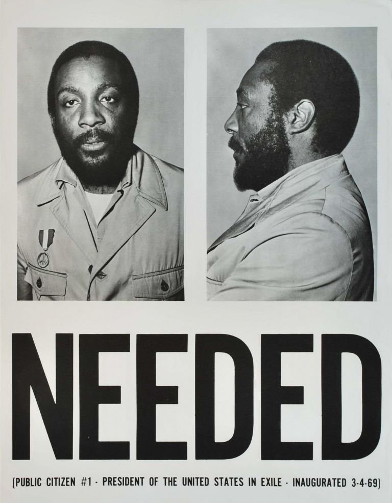 Needed. Public Citizen #1 [Dick Gregory]