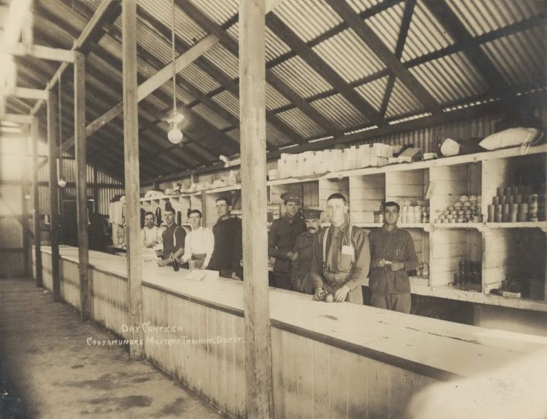 Dry Canteen, Cootamundra Military Training Depot NSW [WWI]