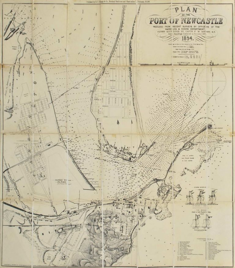 Plan Of The Port Of Newcastle [NSW]