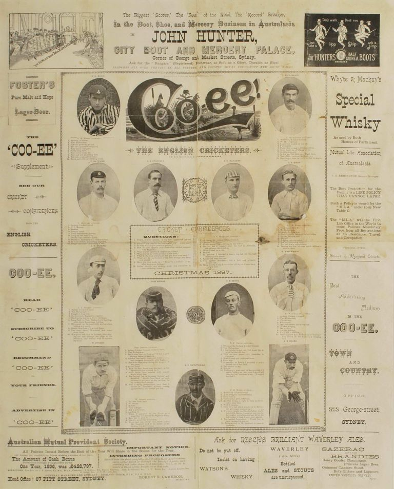 """""""Coo-ee!"""" The English Cricketers"""