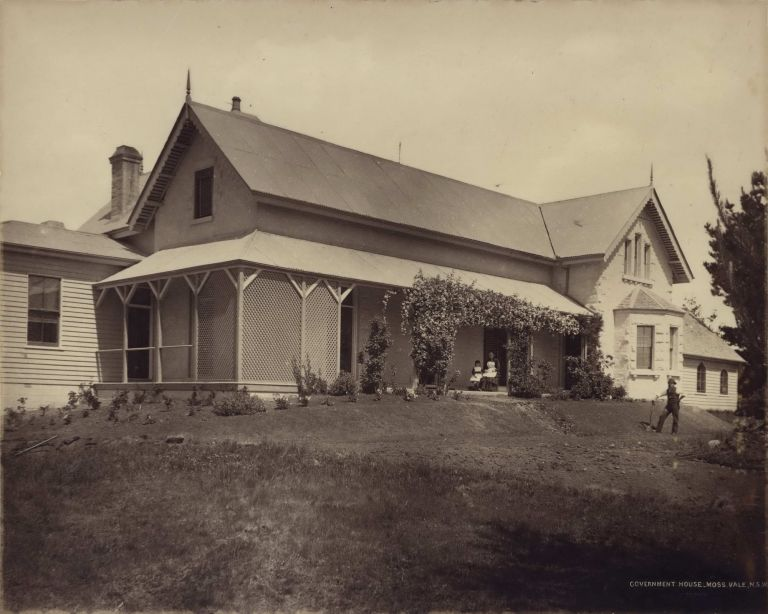 Government House, Moss Vale, NSW [Hillview]. Government Printer, est. 1842 Australian.