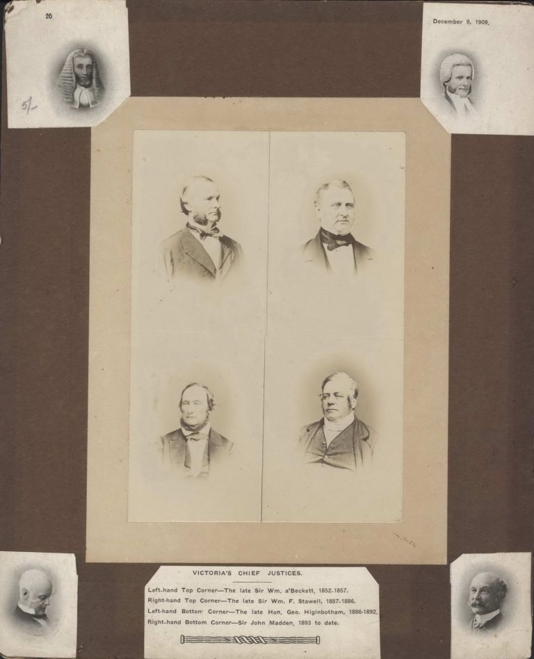 Victoria's Chief Justices