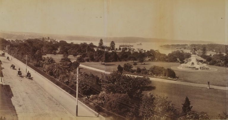 Panorama Looking East From Top Of Public Library, Sydney, N.S. Wales. Government Printer, est. 1842 Aust.