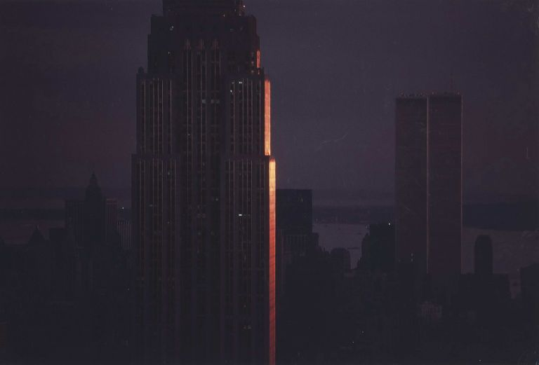 Sunset On Empire State Building, New York. David Moore, 1927–2003 Aust.