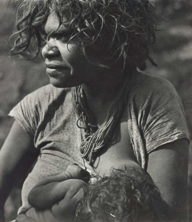Aboriginal Girl With Her First Born Baby. Axel Poignant, 1906–1986 Aust.