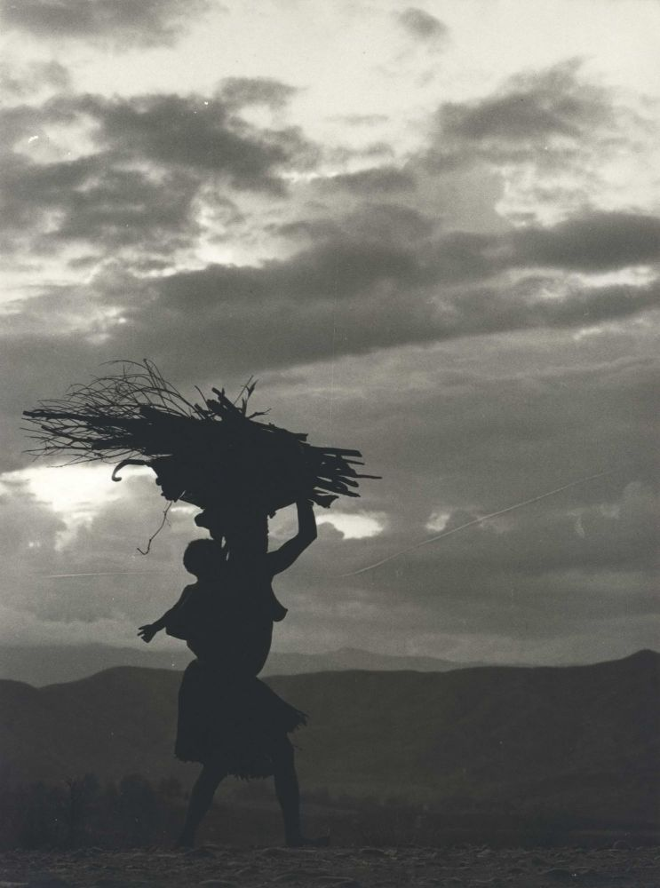 Woman Returning Home, Evening [New Guinea]. Robin Smith, b.1927 NZ/Australian.
