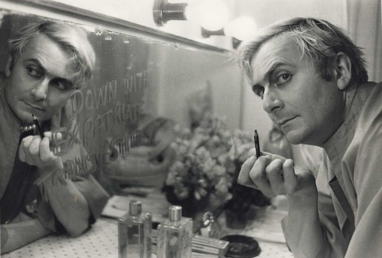 Barry Humphries In His Dressing Room Prior To His Performance At The Tivoli Theatre. Mervyn Bishop, b.1945 Aust.
