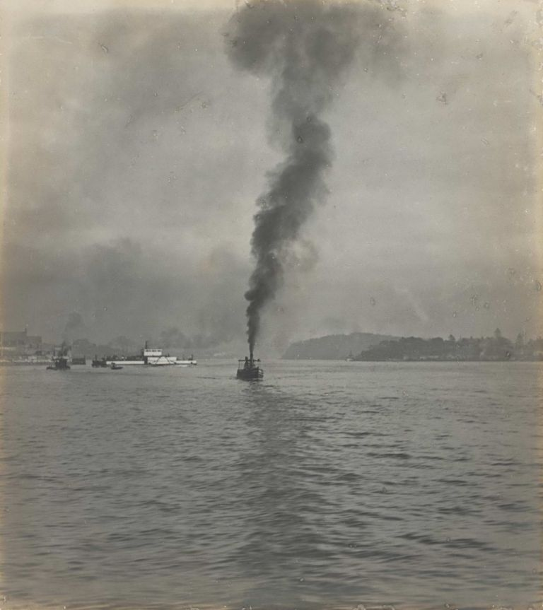 [Steam Rising, Sydney Harbour]. Harold Cazneaux, 1878–1953 Aust.