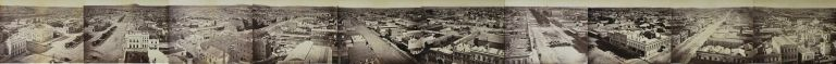 [The City Of Ballarat, NSW, From The Town Hall]. William Bardwell, 1836–1929 Aust.