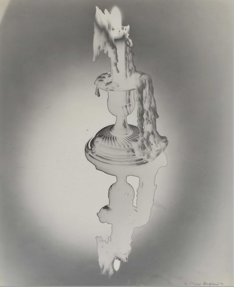 [Solarised Candle With Reflection]. Max Dupain, 1911–1992 Aust.