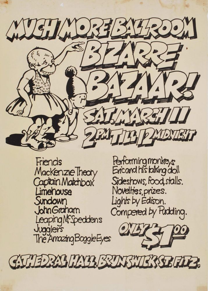 Bizarre Bazaar! [At] Much More Ballroom [Melbourne]
