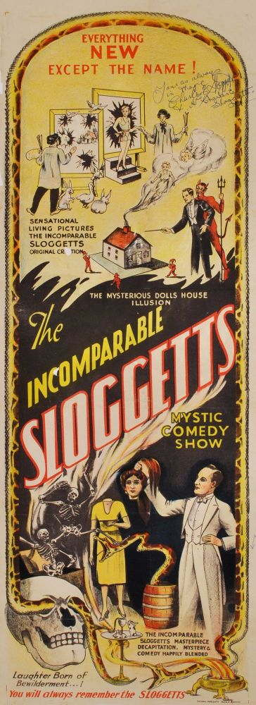 The Incomparable Sloggetts Mystic Comedy Show