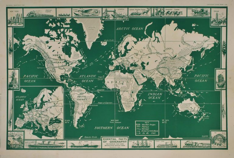 Essential Facts Of Geography [World Map]