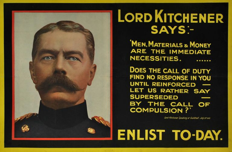 Lord Kitchener Says: Enlist Today