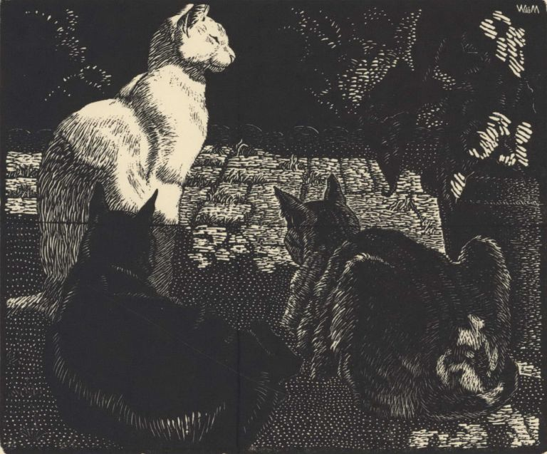 The Lotus Eaters [Cats]. Will Mahony, 1905–1989 Aust.
