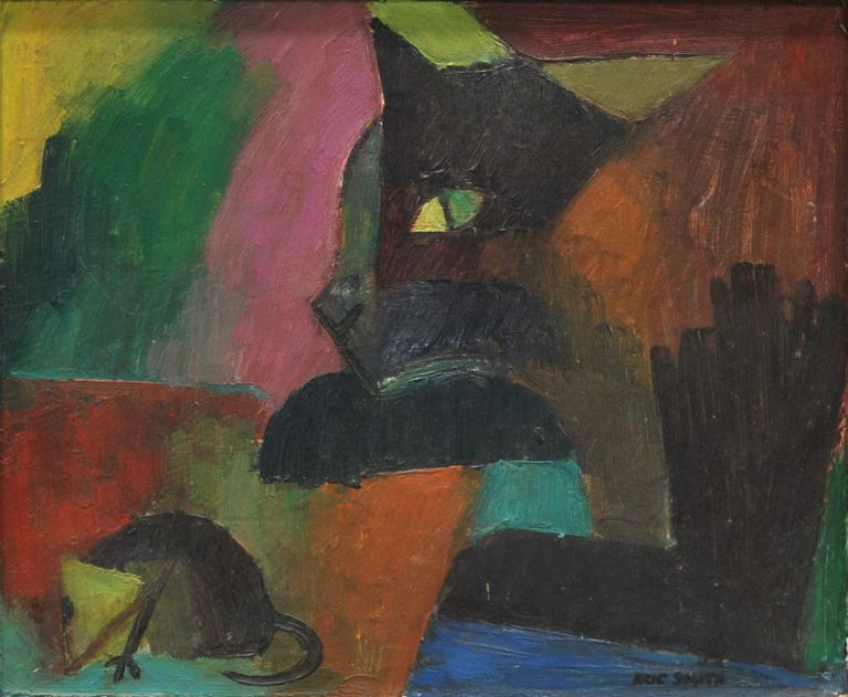 [Cat And Mouse]. Eric John Smith, 1919–2017 Aust.