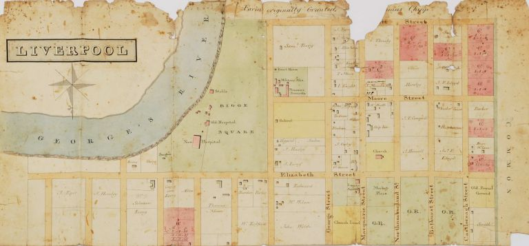 Liverpool [Street Plan, NSW]