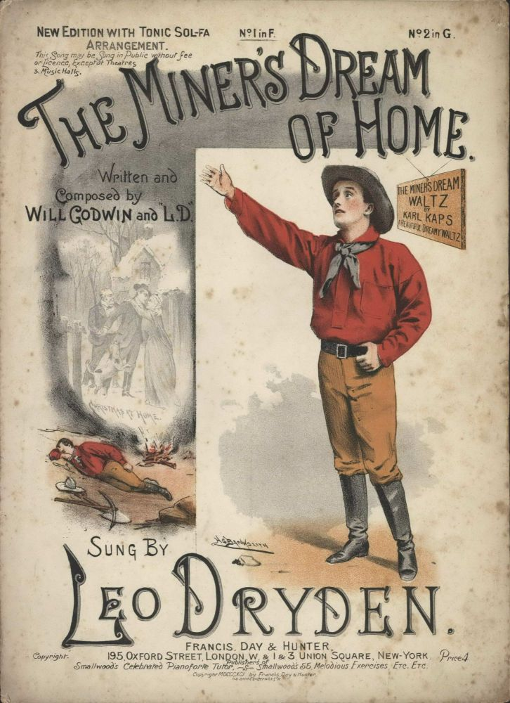 """The Miner's Dream Of Home"" Sung By Leo Dryden"