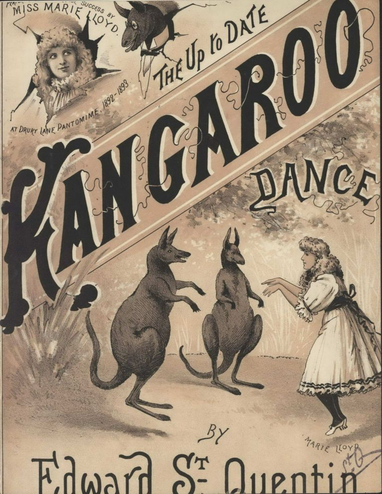 """The Up To Date Kangaroo Dance"" By Edward St Quentin"