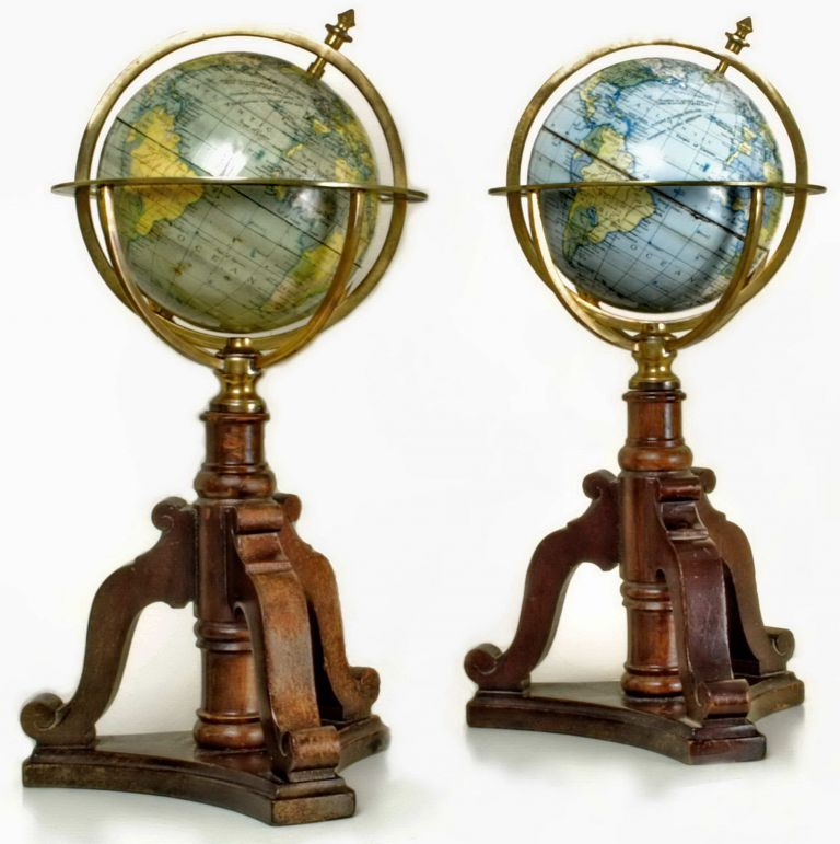Desktop Globes With Stands Made In Tasmania