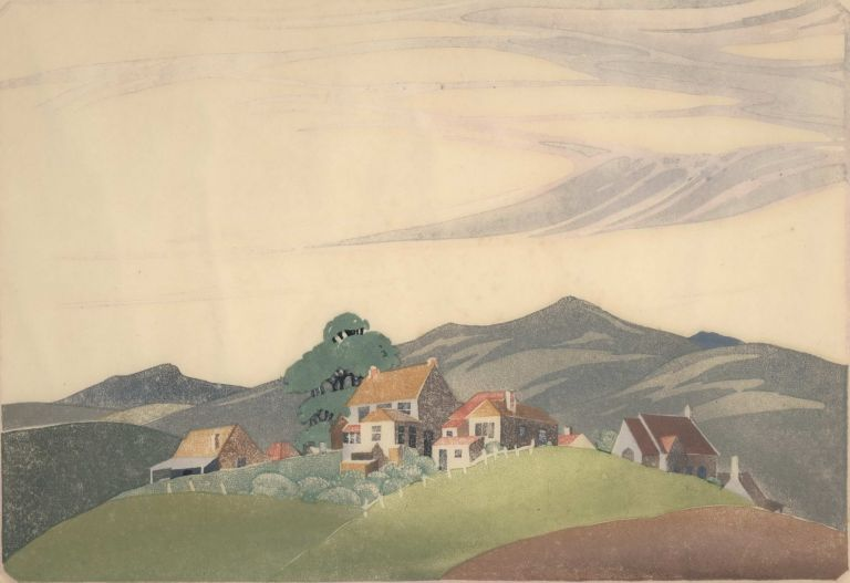 Hill Country. Ethleen Palmer, 1908–1965 Aust.
