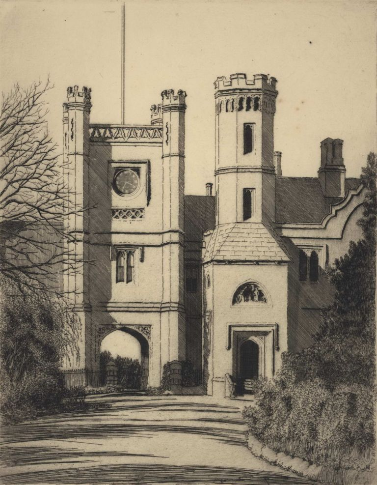 Hobart Government House. Gayfield Shaw, 1885–1961 Aust.