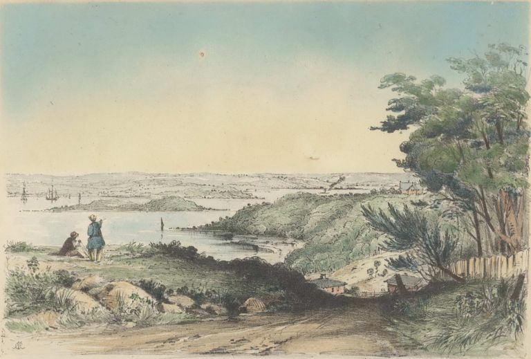 [Port Jackson Views]. Conrad Martens, 1801–1878 Brit./Aust.