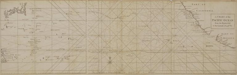 A Chart Of The Pacific Ocean From The Equinoctial To The Latitude Of 39 ½d. No.