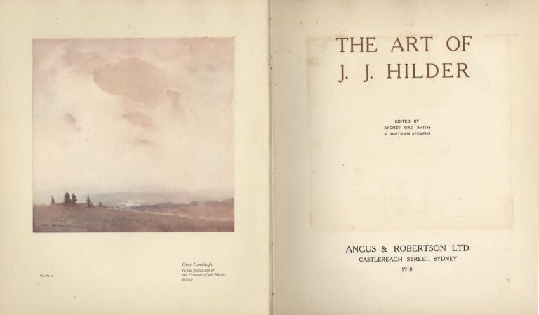 The Art Of J.J. Hilder [Book]