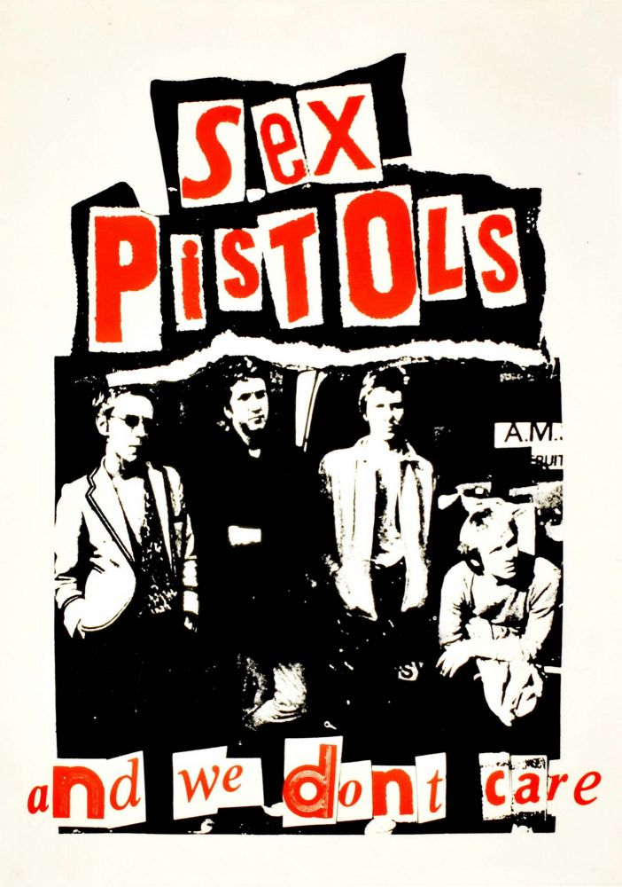 "Sex Pistols. ""And We Don't Care"" [Band]"