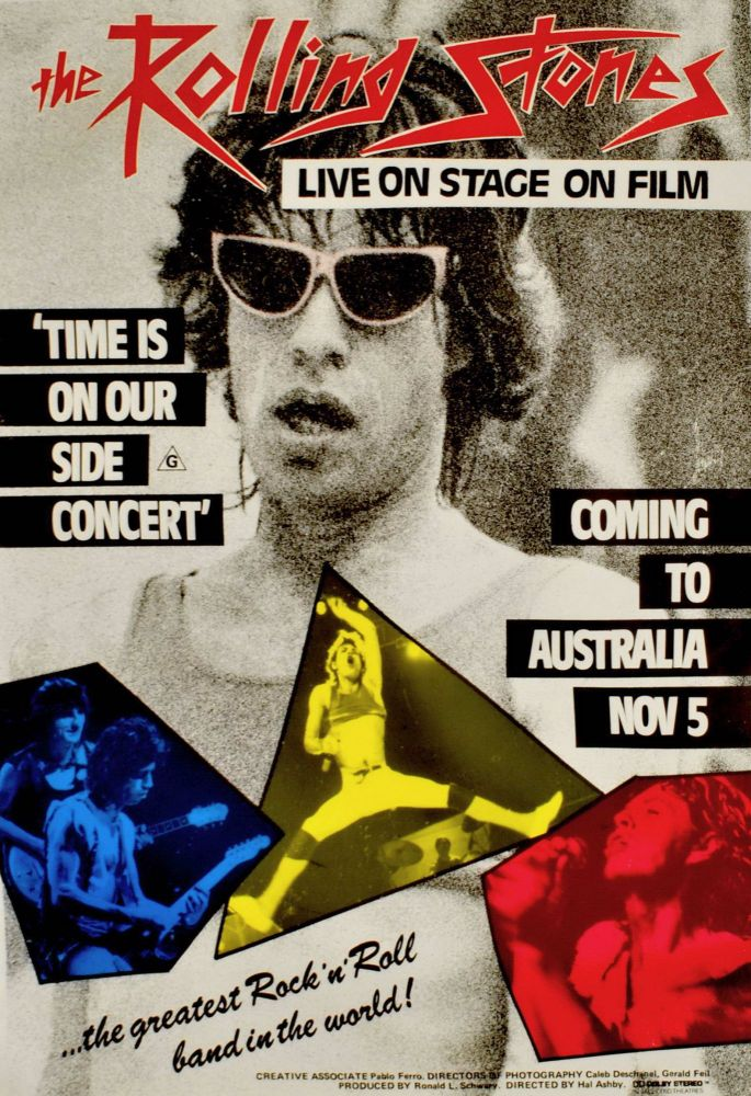 The Rolling Stones Live On Stage On Film [Band]