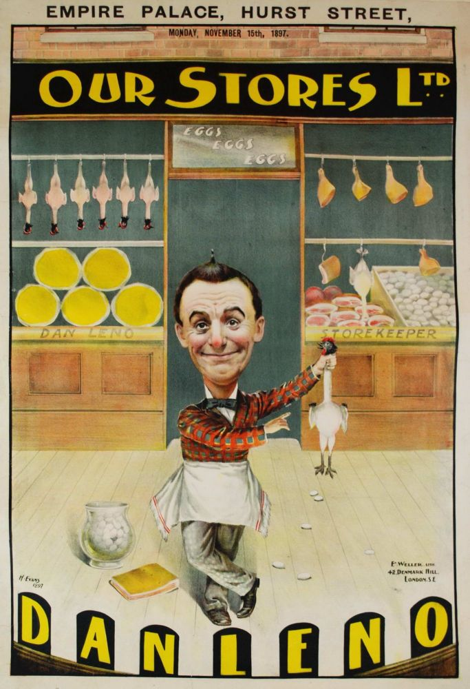 "Dan Leno ""Our Stores Ltd"" [Musical Comedy]"